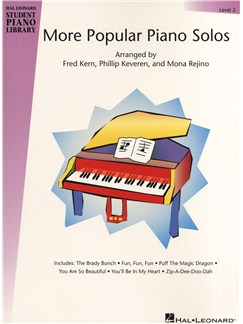 Hal Leonard Student Piano Library: More Popular Piano Solos - Level 2 Books | Piano