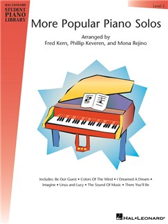 Hal Leonard Student Piano Library: More Popular Piano Solos - Level 5 Books | Piano