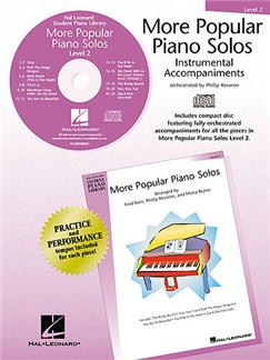 More Popular Piano Solos - Level 2 (CD) CDs | Piano