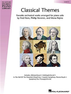 Hal Leonard Student Piano Library - Classical Themes Level 2 (Book) Books | Piano
