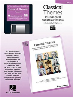 Hal Leonard Student Piano Library - Classical Themes Level 2 (Midi) CD-Roms / DVD-Roms |