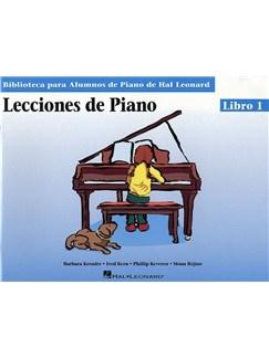Lecciones De Piano: Libro 1 Books | Piano