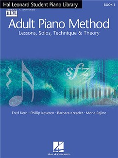 Hal Leonard Student Piano Library Adult Piano Method Books and CD-Roms / DVD-Roms | Piano