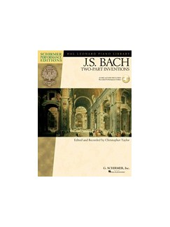 J.S. Bach: Two Part Inventions (Book/Online Audio) Books and Digital Audio | Piano