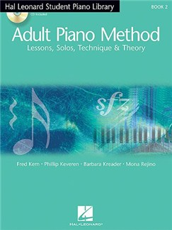 Hal Leonard Student Piano Library Adult Piano Method - US Edition (Book/Online Audio) Books and Digital Audio | Piano