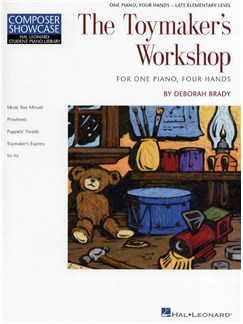 Composer Showcase: Deborah Brady - The Toymaker's Workshop Books | Piano Duet