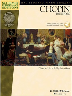 Frederic Chopin: Chopin Preludes (Book/Online Audio) Books and Digital Audio | Piano