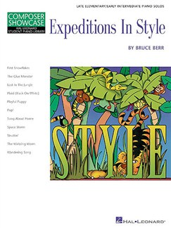 Composer Showcase: Bruce Berr - Expeditions In Style Books | Piano