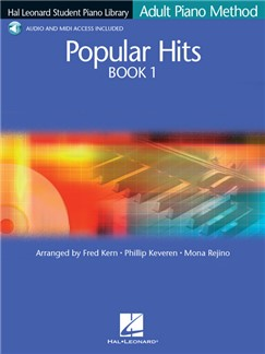 Hal Leonard Student Piano Library: Adult Piano Method - Popular Hits Book 1 (Book/Online Audio) Books and Digital Audio | Piano