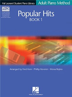 Hal Leonard Adult Piano Method: Popular Hits Book 1 (Book and GM Disk) Books and CD-Roms / DVD-Roms | Piano