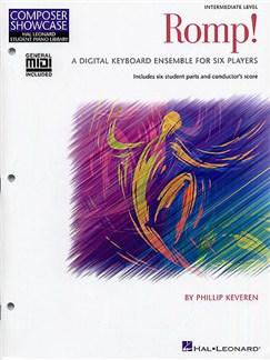 Composer Showcase: Phillip Keveren - Romp! (Midi Disk Edition) Books and CD-Roms / DVD-Roms | Keyboard (Sextet)