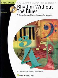 Rhythm Without The Blues: A Comprehensive Rhythm Program For Musicians - Volume 1 Books and CDs |