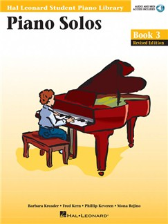Hal Leonard Student Piano Library: Piano Solos Book 3 (Book/Online Audio) Books and Digital Audio | Piano
