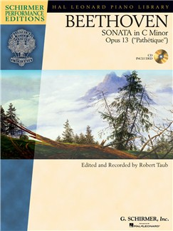 Beethoven: Sonata In C Minor Op.13 (Book/Online Audio) Books and Digital Audio | Piano