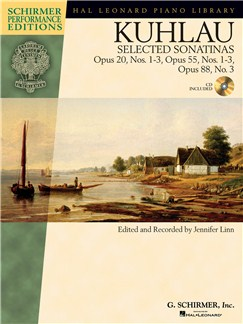 Friedrich Kuhlau: Selected Sonatinas Books and Digital Audio | Piano