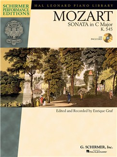 W.A. Mozart: Sonata In C K.545 (Book/Online Audio) Books and Digital Audio | Piano