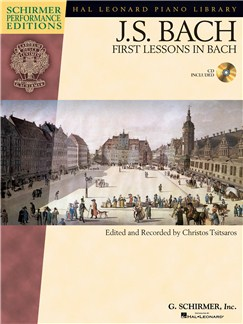 J.S. Bach: First Lessons In Bach (Book/CD) Books and CDs | Piano
