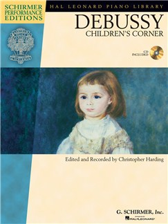 Claude Debussy: Children's Corner (Book/CD) CD y Libro | Piano