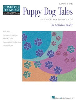 Composer Showcase: Deborah Brady - Puppy Dog Tales Books | Piano