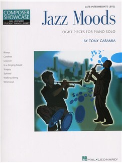 Tony Caramia: Jazz Moods Books | Piano