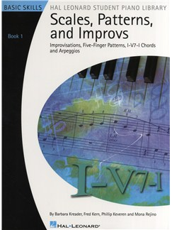 Scales, Patterns And Improvs - Book 1 Books | Keyboard, Piano