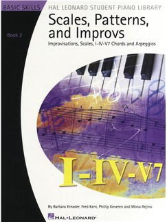 Scales, Patterns & Improvs - Book 2 Books | Piano