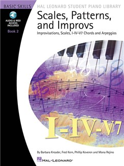 Scales, Patterns & Improvs - Book 2 (Book/Online Audio) Books and Digital Audio | Piano