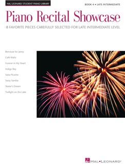 Piano Recital Showcase - Book Four: Late Intermediate Level Books | Piano
