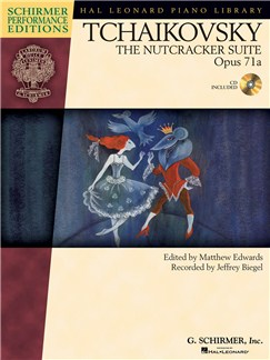 Pyotr Ilych Tchaikovsky - The Nutcracker Suite Op.71a (Book/Online Audio) Books and Digital Audio | Piano
