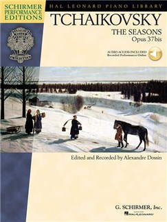 Pyotr Ilyich Tchaikovsky: The Seasons Op.37bis (Book/Online Audio) Books and Digital Audio | Piano