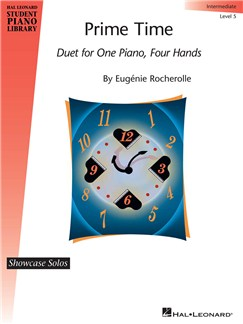 Prime Time: Duet For One Piano, Four Hands Books | Piano Duet