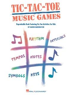 Karen Harrington: Tic-Tac-Toe Music Games Books |