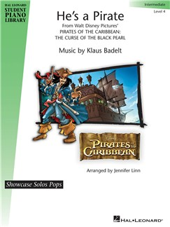 He's A Pirate: Hal Leonard Student Piano Library Showcase Solo - Level 4 Books | Piano