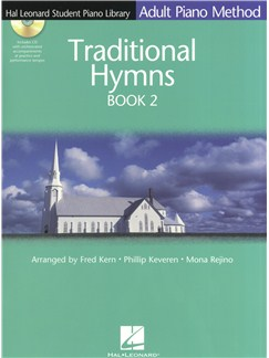 Adult Piano Method: Traditional Hymns Book 2 Books and CDs | Piano