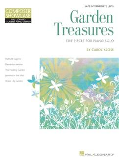Garden Treasures: Five Pieces For Piano Solo Books | Piano