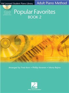 Hal Leonard Adult Piano Method: Popular Favourites Book 2 Books | Piano