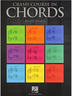 Lee Evans: Crash Course In Chords Buch | Klavier