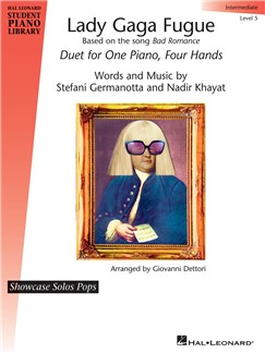 Giovanni Dettori: Lady Gaga Fugue Books | Piano Duet