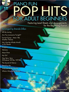 Piano Fun: Pop Hits For Adult Beginners Books and CDs | Piano