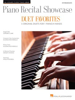 Piano Recital Showcase – Duet Favorites Books | Piano Duet