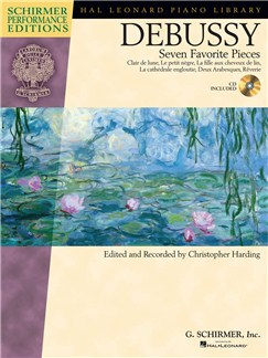 Claude Debussy: Seven Favorite Pieces Books and CDs | Piano