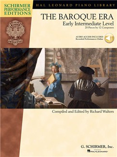 The Baroque Era: Early Intermediate Level (Schirmer Performance Editions) Books and Digital Audio | Piano
