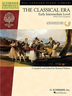 The Classical Era: Early Intermediate Level (Schirmer Performance Editions) Books and Digital Audio | Piano