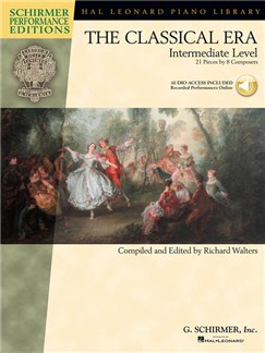 The Classical Era: Intermediate Level (Schirmer Performance Editions) Books and Digital Audio | Piano