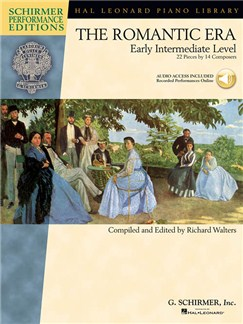 The Romantic Era: Early Intermediate Level (Schirmer Performance Editions) Books and Digital Audio | Piano