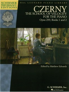 Carl Czerny: The School Of Velocity For The Piano, Op.299, Books 1 And 2 (Schirmer Performance Edition) Books | Piano