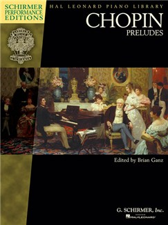 Chopin: Preludes (Schirmer Performance Editions) Books | Piano