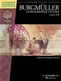 Burgmüller: 25 Progressive Studies, Op. 100 (Schirmer Performance Editions) Books | Piano