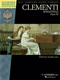 Clementi: Sonatinas, Op. 36 (Schirmer Performance Edition) Books | Piano