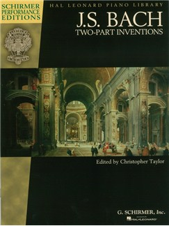 J.S. Bach: Two Part Inventions (Schirmer Performance Editions) Books | Piano